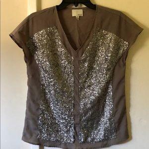 🚨24 Hr Flash Sale $15🚨 Greylin sequin Shirt 💫